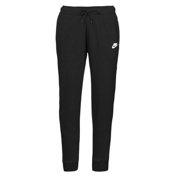 Abbigliamento Donna Pantaloni da tuta Nike NSMLNESSNTL FLC MR JGGR Nero / Bianco