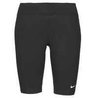 Abbigliamento Donna Leggings Nike NSESSNTL MR BIKER SHORT Nero / Bianco