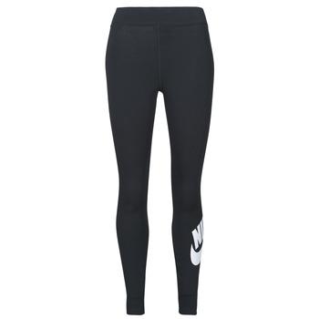 Abbigliamento Donna Leggings Nike NSESSNTL GX HR LGGNG FTRA Nero / Bianco