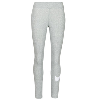 Abbigliamento Donna Leggings Nike NSESSNTL GX MR LGGNG SWSH Grigio / Bianco