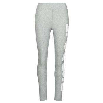 Abbigliamento Donna Leggings Nike NSESSNTL GX HR LGGNG JDI Grigio / Bianco