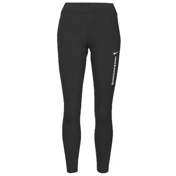 Abbigliamento Donna Leggings Nike NSSWSH LGGNG HR Nero / Bianco