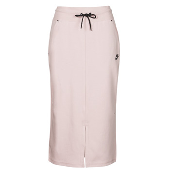 Abbigliamento Donna Gonne Nike NSTCH FLC SKIRT Beige / Nero