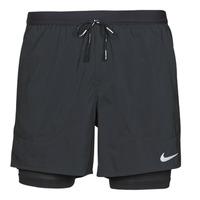 Abbigliamento Uomo Shorts / Bermuda Nike DF FLX STRD 2IN1 SHRT 5IN Nero