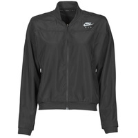 Abbigliamento Donna giacca a vento Nike AIR JACKET Nero / Argento