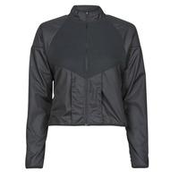 Abbigliamento Donna giacca a vento Nike RUN DVN TOP MID Nero / Oro