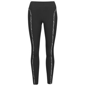 Abbigliamento Donna Leggings Nike NIKE ONE LUXE ICNCLSH TGT Nero / Viola