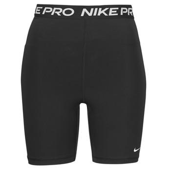 Abbigliamento Donna Shorts / Bermuda Nike NIKE PRO 365 SHORT 7IN HI RISE Nero / Bianco