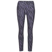 Abbigliamento Donna Leggings Nike NIKE ONE 7/8 AOP TGT ICNCLSH Viola / Nero