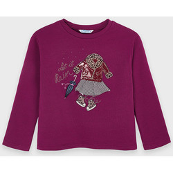 Abbigliamento Bambina T-shirts a maniche lunghe Mayoral ATRMPN-23436 Viola