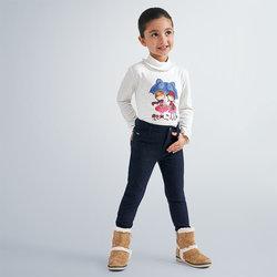 Abbigliamento Bambina Pantaloni Mayoral ATRMPN-23437 Blu