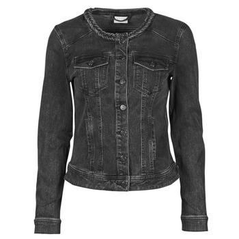 Abbigliamento Donna Giacche in jeans Vila VISASHI Nero