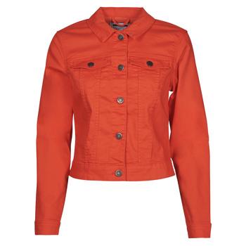 Abbigliamento Donna Giacche in jeans Noisy May NMDEBRA Rosso