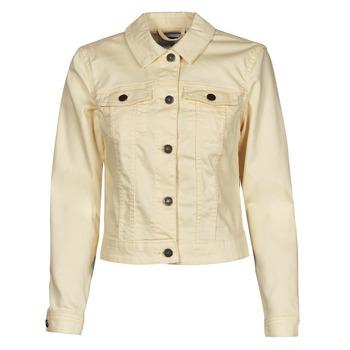 Abbigliamento Donna Giacche in jeans Noisy May NMDEBRA Giallo