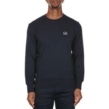 Abbigliamento Uomo Felpe Cp Company 07CMSS001A005086W-888 TOTAL ECLIPSE Blu