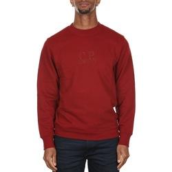 Abbigliamento Uomo Felpe Cp Company 07CMSS002A005086W - 576 SCOOTER Rosso