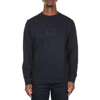 Abbigliamento Uomo Felpe Cp Company 07CMSS002A005086W - 888 TOTAL ECLIPSE Blu