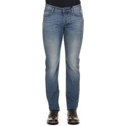 Abbigliamento Uomo Jeans dritti Roy Rogers 529 Weared 10 - Blu