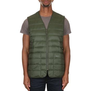 Abbigliamento Uomo Gilet / Cardigan Barbour 202MMLI0049 - SG51 SAGE Verde