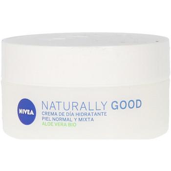Bellezza Donna Idratanti e nutrienti Nivea Naturally Good Crema Hidratante Día  50 ml