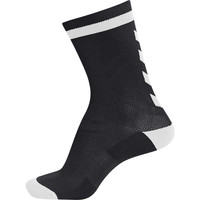 Accessori Unisex bambino Calzini Hummel Chaussettes  elite indoor sock low noir/blanc