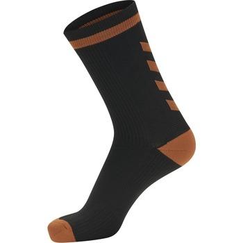 Accessori Calzini Hummel Chaussettes  Elite Indoor Low noir/orange