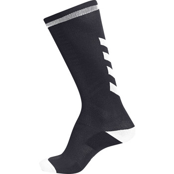 Accessori Unisex bambino Calzini Hummel Chaussettes  elite indoor high noir/blanc
