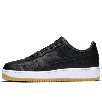 Scarpe Sneakers basse Nike Air Force 1 Low x CLOT x Fragment Black Black / University Red – White