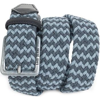 Accessori Cinture Lois Elastica Nero-grigio