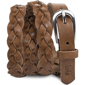 Accessori Donna Cinture Lois Braided Leather Pelle