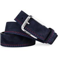 Accessori Cinture Lois Casual Leather Marino