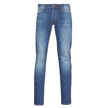 Abbigliamento Uomo Jeans slim Jack & Jones JJIGLENN Blu / Medium