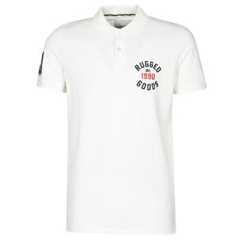 Abbigliamento Uomo Polo maniche corte Jack & Jones JJAPPLICA Bianco