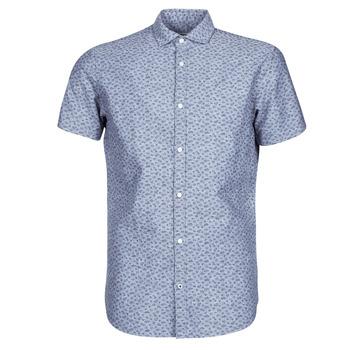 Abbigliamento Uomo Camicie maniche corte Jack & Jones JPRBLASUMMER Blu