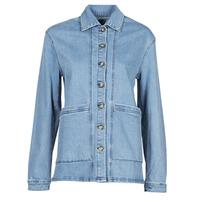 Abbigliamento Donna Giacche in jeans Betty London OVEST Blu / Medium