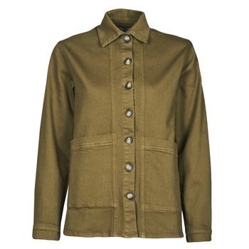 Abbigliamento Donna Giacche in jeans Betty London OVEST Kaki