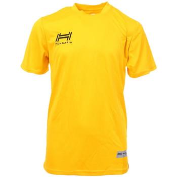 Abbigliamento Uomo T-shirt maniche corte Hungaria H-15TMJUBA00 Giallo