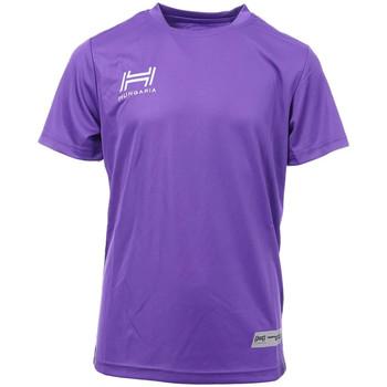 Abbigliamento Uomo T-shirt maniche corte Hungaria H-15TMJUBA00 Viola