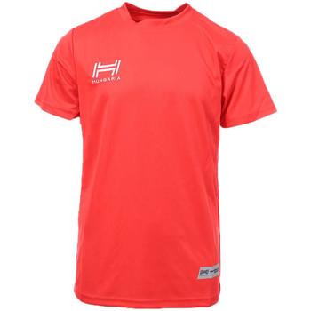 Abbigliamento Uomo T-shirt maniche corte Hungaria H-15TMJUBA00 Rosso