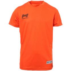 Abbigliamento Uomo T-shirt maniche corte Hungaria H-15TMJUBA00 Arancio