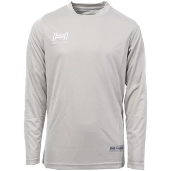 Abbigliamento Uomo T-shirts a maniche lunghe Hungaria H-15TMJUCA00 Grigio