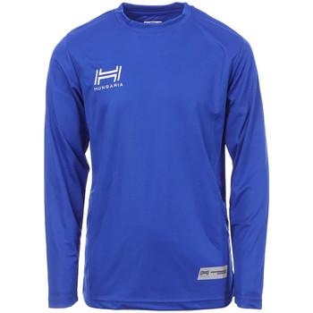 Abbigliamento Uomo T-shirts a maniche lunghe Hungaria H-15TMJUCA00 Blu