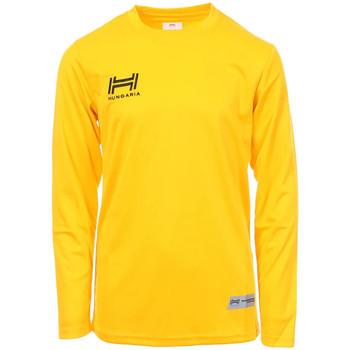 Abbigliamento Uomo T-shirts a maniche lunghe Hungaria H-15TMJUCA00 Giallo