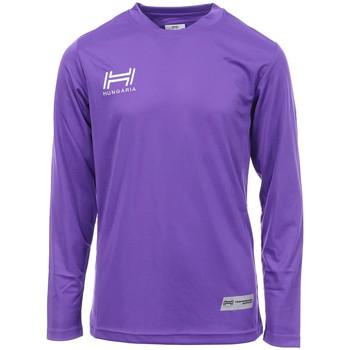 Abbigliamento Uomo T-shirts a maniche lunghe Hungaria H-15TMJUCA00 Viola