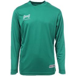 Abbigliamento Uomo T-shirts a maniche lunghe Hungaria H-15TMJUCA00 Verde