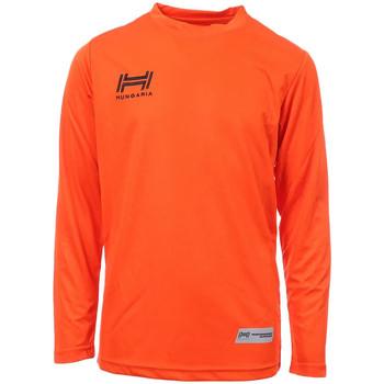 Abbigliamento Uomo T-shirts a maniche lunghe Hungaria H-15TMJUCA00 Arancio
