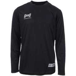 Abbigliamento Uomo T-shirts a maniche lunghe Hungaria H-15TMJUCA00 Nero