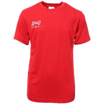 Abbigliamento Uomo T-shirt maniche corte Hungaria H-15TOJYB000 Rosso