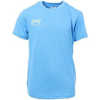 Abbigliamento Uomo T-shirt maniche corte Hungaria H-15TOJYB000 Blu