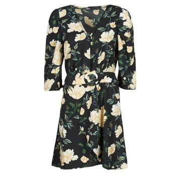 Abbigliamento Donna Abiti corti Only ONLEVE 3/4 SLEEVE SHORT DRESS WVN Nero